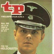 Colecionismo da Revista Tiempo: REVISTA TP Nº 690 SERIE HOLOCAUSTO. Lote 36921885