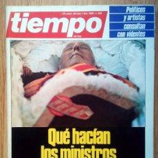 Coleccionismo de Revista Tiempo: REVISTA TIEMPO Nº 185 . 1985. Lote 36938249