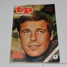 Coleccionismo de Revista Tiempo: (M-17) REVISTA TP TELEPROGRAMA NUM 164, JUNIO 1969, ROBERT WAGNER , SEÑALES DE USO. Lote 37037248