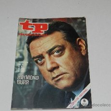 Coleccionismo de Revista Tiempo: (M-17) REVISTA TP TELEPROGRAMA NUM 220, JUNIO 1970, RAYMOND BURR , SEÑALES DE USO. Lote 37038171
