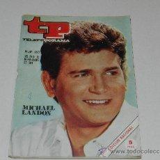 Coleccionismo de Revista Tiempo: (M-17) REVISTA TP TELEPROGRAMA NUM 190 , NOVIEMBRE 1969, MICHEL LANDON, SEÑALES DE USO. Lote 37052969