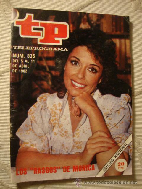 REVISTA - TP - Nº 831 MONICA RANDALL (Coleccionismo - Revistas y Periódicos Modernos (a partir de 1.940) - Revista Tiempo)