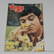 Coleccionismo de Revista Tiempo: (M-17) REVISTA TP TELEPROGRAMA NUM 211, ABRIL 1970 PAJARES , SEÑALES DE USO . Lote 37109488