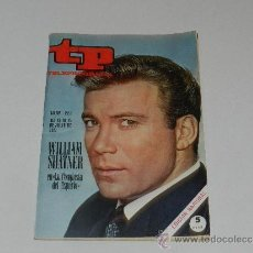 Coleccionismo de Revista Tiempo: (M-17) REVISTA TP TELEPROGRAMA NUM 223, JULIO 1970 WILLIAM SHARNER , SEÑALES DE USO . Lote 37109733