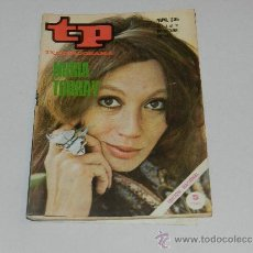 Coleccionismo de Revista Tiempo: (M-17) REVISTA TP TELEPROGRAMA NUM 235, OCTUBRE 1970, NURIA TORRAY , SEÑALES DE USO . Lote 37110023