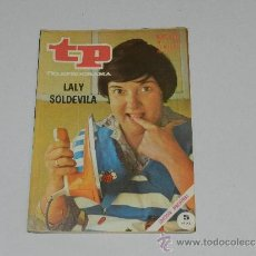 Coleccionismo de Revista Tiempo: (M-17) REVISTA TP TELEPROGRAMA NUM 237, OCTUBRE 1970,LALY SOLDEVILA SEÑALES DE USO . Lote 37125708