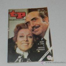 Coleccionismo de Revista Tiempo: (M-17) REVISTA TP TELEPROGRAMA NUM 244,DICIEMBRE 1970 ,IRENE G. CABA Y ANT FERRANDIS SEÑALES DE USO . Lote 37125855