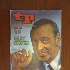 Colecionismo da Revista Tiempo: TELEPROGRAMA TP Nº 265 DEL 3 AL 9 DE MAYO DE 1971. GARY COOPER. Lote 37129141