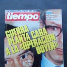 Coleccionismo de Revista Tiempo: REVISTA TIEMPO N 234 AÑO 1986 OPERCACION BOYER. Lote 37149992