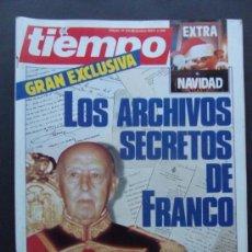 Coleccionismo de Revista Tiempo: REVISTA TIEMPO N 136 AÑO 1984 GRAN EXCLUSIVA LOS ARCHIVOS SECRETOS DE FRANCO. Lote 37150100