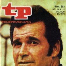 Coleccionismo de Revista Tiempo: TP PROGRAMACIÓN SEMANAL JAMES GARNER(DEL 16 AL 22 DE JULIO DE 1979). Lote 37291508