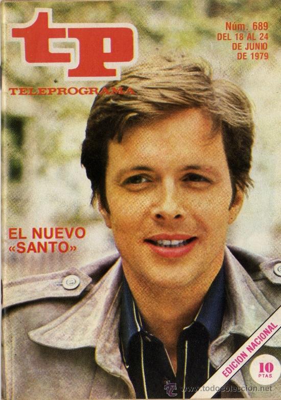 TP PROGRAMACIÓN SEMANAL IAN OGILVY (DEL 18 AL 24 DE JUNIO DE 1979) (Coleccionismo - Revistas y Periódicos Modernos (a partir de 1.940) - Revista Tiempo)