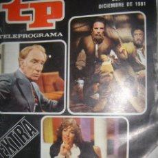 Coleccionismo de Revista Tiempo: TP Nº 818 AÑO 1981 EXTRA. Lote 38834960