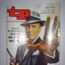 Coleccionismo de Revista Tiempo: TP Nº 913 AÑO 1983 . Lote 38835027