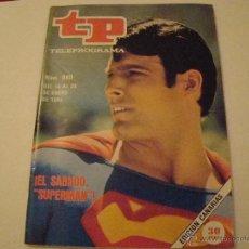 Coleccionismo de Revista Tiempo: REVISTA TP Nº 980 - SUPERMAN. Lote 40652867