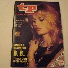 Coleccionismo de Revista Tiempo: REVISTA TP Nº 1002 . Lote 40652955
