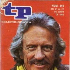 Coleccionismo de Revista Tiempo: TELEPROGRAMA TP- 846. Lote 40858965