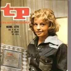Colecionismo da Revista Tiempo: TP TELEPROGRAMA NUM. 479: LOS MEJORES DE TP 1974 ( PIPPI CALZASLARGAS ) . Lote 40937653