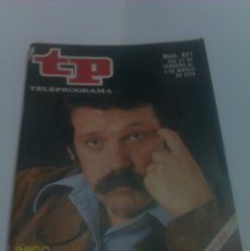 Collectionnisme de Magazine Tiempo: REVISTA TP TELEPROGRAMA AÑO 1978 PORTADA JOSE MARIA IÑIGO ED CATALUÑA. Lote 40955603
