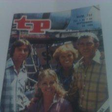 Coleccionismo de Revista Tiempo: REVISTA TP TELEPROGRAMA AÑO 1980 PORTADA CODIGO RESCATE ED CATALUÑA. Lote 40956099