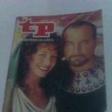 Coleccionismo de Revista Tiempo: REVISTA TP TELEPROGRAMA AÑO 1985 PORTADA LOS ULTIMOS DIAS DE POMPEYA ED CATALUÑA. Lote 40957482