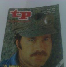 Coleccionismo de Revista Tiempo: REVISTA TP TELEPROGRAMA AÑO 1984 PORTADA EL PIRATA FRANCO NERO ED CATALUÑA. Lote 40957696