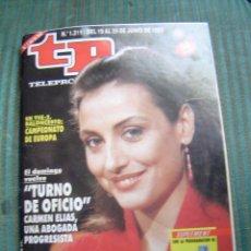 Coleccionismo de Revista Tiempo: TELEPROGRAMA TP NUMERO 1211. Lote 40978267