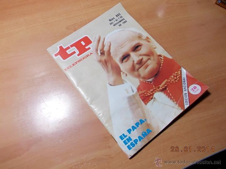 TP TELEPROGRAMA. (Coleccionismo - Revistas y Periódicos Modernos (a partir de 1.940) - Revista Tiempo)