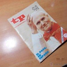 Coleccionismo de Revista Tiempo: TP TELEPROGRAMA.. Lote 41283984