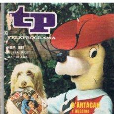 Coleccionismo de Revista Tiempo: TP Nº 889 AÑO 1983 D'ARTACAN LEER DESCRIPCION DEL ARTICULO. Lote 41738994