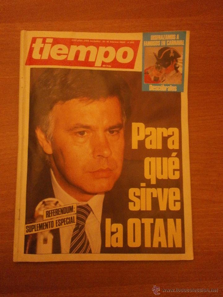 REVISTA TIEMPO 10-16 FEBRERO 1986 - Nº 196- (Coleccionismo - Revistas y Periódicos Modernos (a partir de 1.940) - Revista Tiempo)