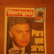 Coleccionismo de Revista Tiempo: REVISTA TIEMPO 10-16 FEBRERO 1986 - Nº 196-. Lote 41987644
