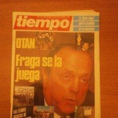 Coleccionismo de Revista Tiempo: REVISTA TIEMPO 17-23- FEBRERO 1986- Nº 197. Lote 41987649