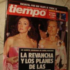 Coleccionismo de Revista Tiempo: REVISTA TIEMPO. Lote 42080151