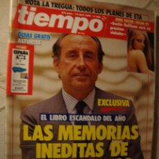 Coleccionismo de Revista Tiempo: REVISTA TIEMPO. Lote 42080652