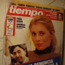 Coleccionismo de Revista Tiempo: REVISTA TIEMPO. Lote 42081326