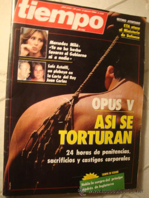 REVISTA TIEMPO (Coleccionismo - Revistas y Periódicos Modernos (a partir de 1.940) - Revista Tiempo)