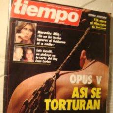 Coleccionismo de Revista Tiempo: REVISTA TIEMPO. Lote 42081807