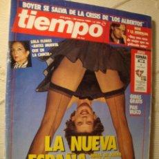Coleccionismo de Revista Tiempo: REVISTA TIEMPO. Lote 42082249