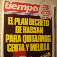 Coleccionismo de Revista Tiempo: REVISTA TIEMPO. Lote 42083042