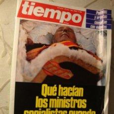 Coleccionismo de Revista Tiempo: REVISTA TIEMPO FRANCO MUERTO. Lote 218423012