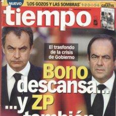 Coleccionismo de Revista Tiempo: REVISTA TIEMPO - Nº 1250 - 10-IV-2006- EL TRASFONDO DE LA CRISIS DE GOBIERNO. Lote 42752648