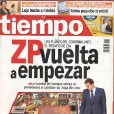 Coleccionismo de Revista Tiempo: REVISTA TIEMPO - Nº1289 - 8-I-2007 - LOS PLANES DEL GOBIERNO ANTE EL DESAFIO DE ETA. Lote 42754944