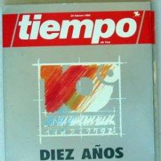 Coleccionismo de Revista Tiempo: TIEMPO DE HOY / DIEZ AÑOS 1982 / 1992 - 10º ANIVERSARIO - 1992 - VER ÍNDICE. Lote 43191128