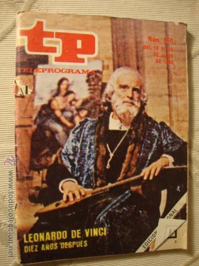 REVISTA - TP - Nº 860 LEONARDO DE VINCI (Coleccionismo - Revistas y Periódicos Modernos (a partir de 1.940) - Revista Tiempo)