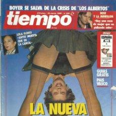 Coleccionismo de Revista Tiempo: TIEMPO Nº 359 CON LA NUEVA ESPAÑA - SUAREZ -BOYER - ALMODOBAR AÑO 1989. Lote 45403566