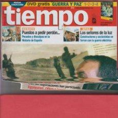 Coleccionismo de Revista Tiempo: REVISTA TIEMPO - Nº 1275 - OCTUBRE 2006 - POLÍTICOS EN EL CREPÚSCULO. Lote 45417031
