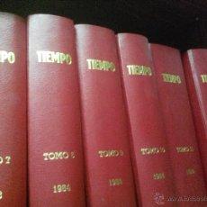 Coleccionismo de Revista Tiempo: EL TIEMPO. REVISTA. TOMOS DEL VII AL XII. PERFECTO ESTADO! 1983-1985!!!. Lote 45464974