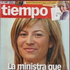 Coleccionismo de Revista Tiempo: REVISTA TIEMPO - Nº 1357 - ABRIL 2008 - EL GOBIERNO LE HACE DOS REGALOS AL PP. Lote 45479622