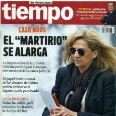 Coleccionismo de Revista Tiempo: REVISTA TIEMPO [CASO NÓOS - EL 'MARTIRIO' SE ALARGA][DEL 10 AL 16 DE ENERO DE 2014]. Lote 45496761